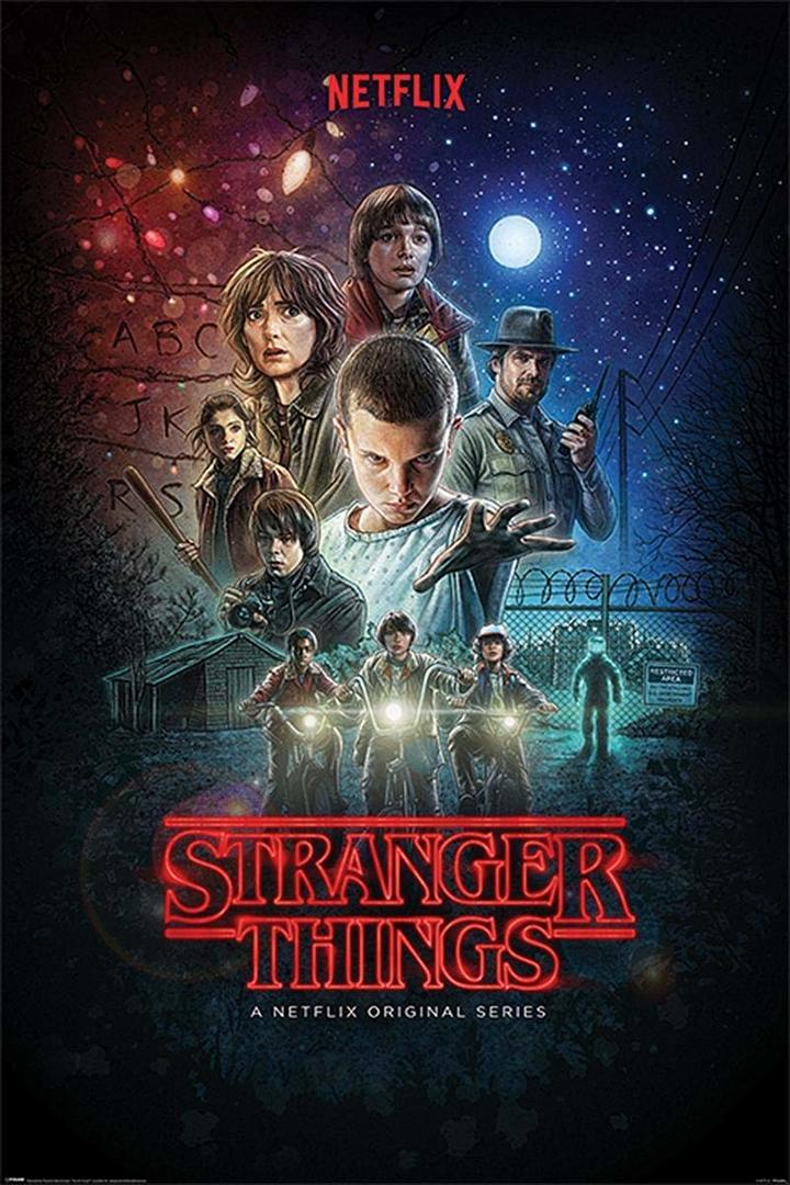 Affiche de sranger things